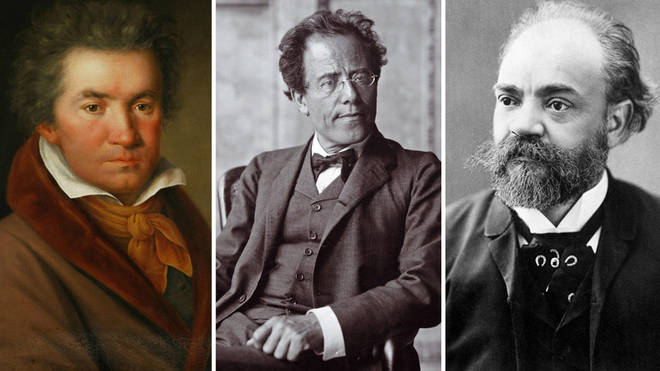 Beethoven, Mahler and Dvořák all died after their ninth symphonies