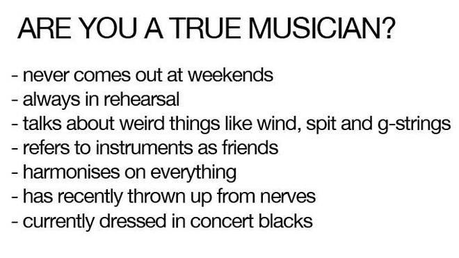 True musician