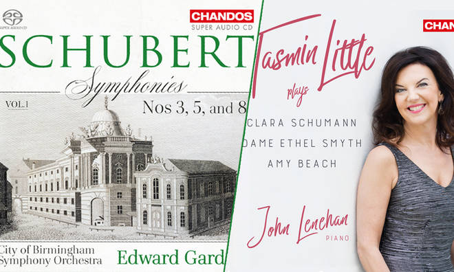 New Releases: Schubert Symphonies Vol. 1 – Edward Gardner and City of Birmingham Symphony Orchestra; Tasmin Little Plays Schumann, Smyth & Beach – Tasmin Little