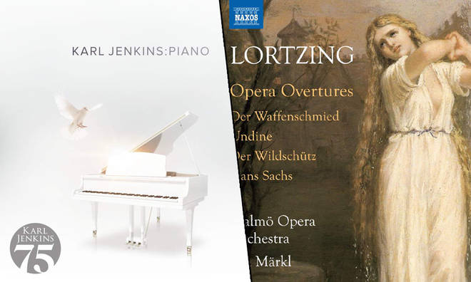 New Releases: Piano – Karl Jenkins, Lortzing Opera Overtures – Jun Märkl & Malmö Opera Orchestra