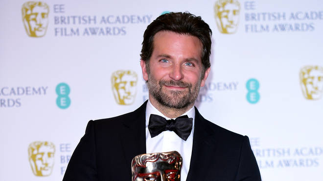 Bradley Cooper at the Baftas 2019