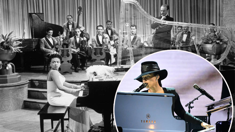 Alicia Keys just played two pianos at once in jaw-dropping Grammys
