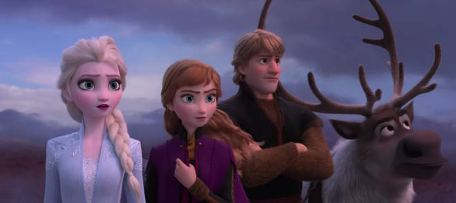 Characters Elsa, Anna, Christophe and Sven will appear Frozen 2