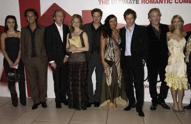 The 'Love Actually' cast attend the Paris premiere