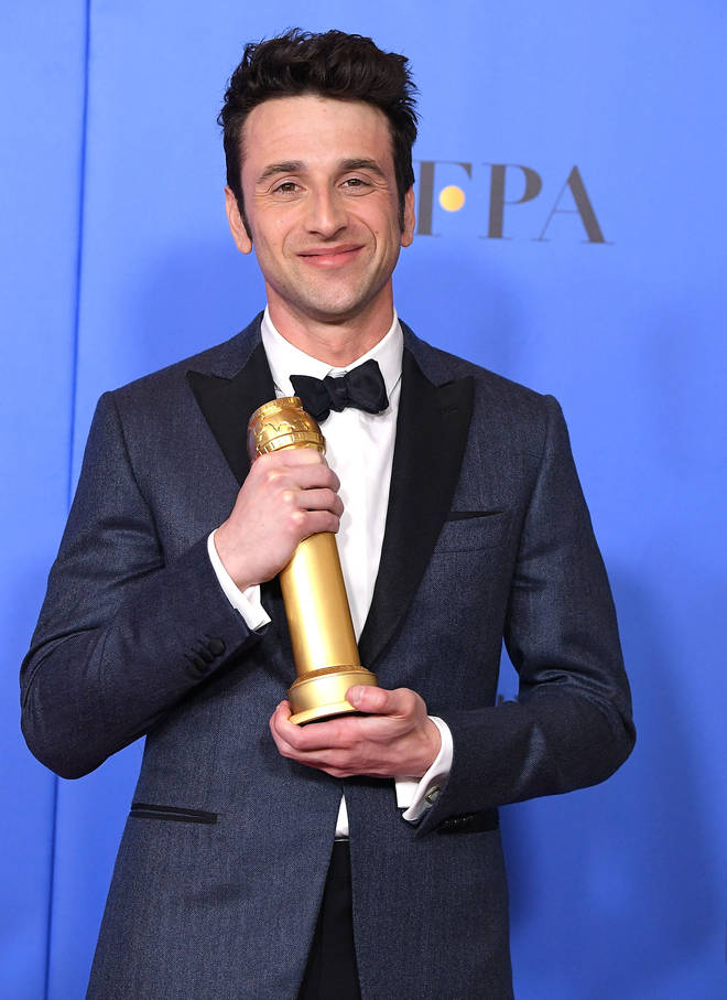 Justin Hurwtiz wins Golden Globe for Best Original Score to First Man