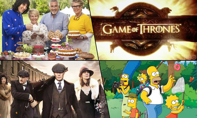 The Great British Bake Off, Game of Thrones, Peaky Blinders and The Simpsons all have a spot in our Best TV theme music ranking