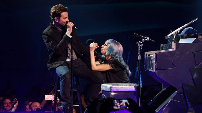 Bradley Cooper and Lady Gaga sing 'Shallow' at Park MGM, Las Vegas