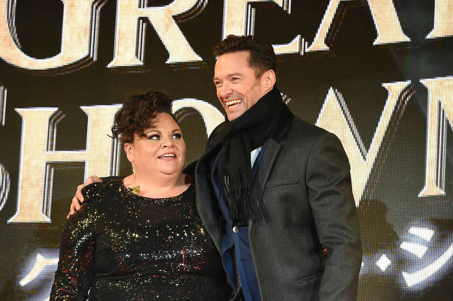 Keala Settle and Hugh Jackman attend 'The Greatest Showman' Japan Premiere