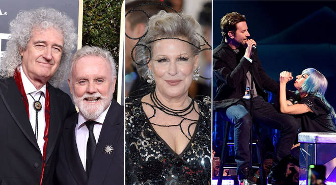 Queen, Bette Midler, Bradley Cooper and Lady Gaga to perform at the Oscars 2019