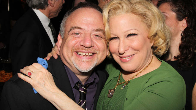 Marc Shaiman and Bette Midler attend 'I'll Eat You Last: A Chat With Sue Mengers'