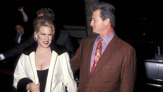 Bette Midler and husband Martin von Haselberg attend the 'For the Boys' Beverly Hills Premiere