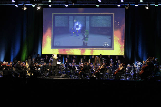 Eímear Noone conducts Legend of Zelda: Symphony of the Goddesses