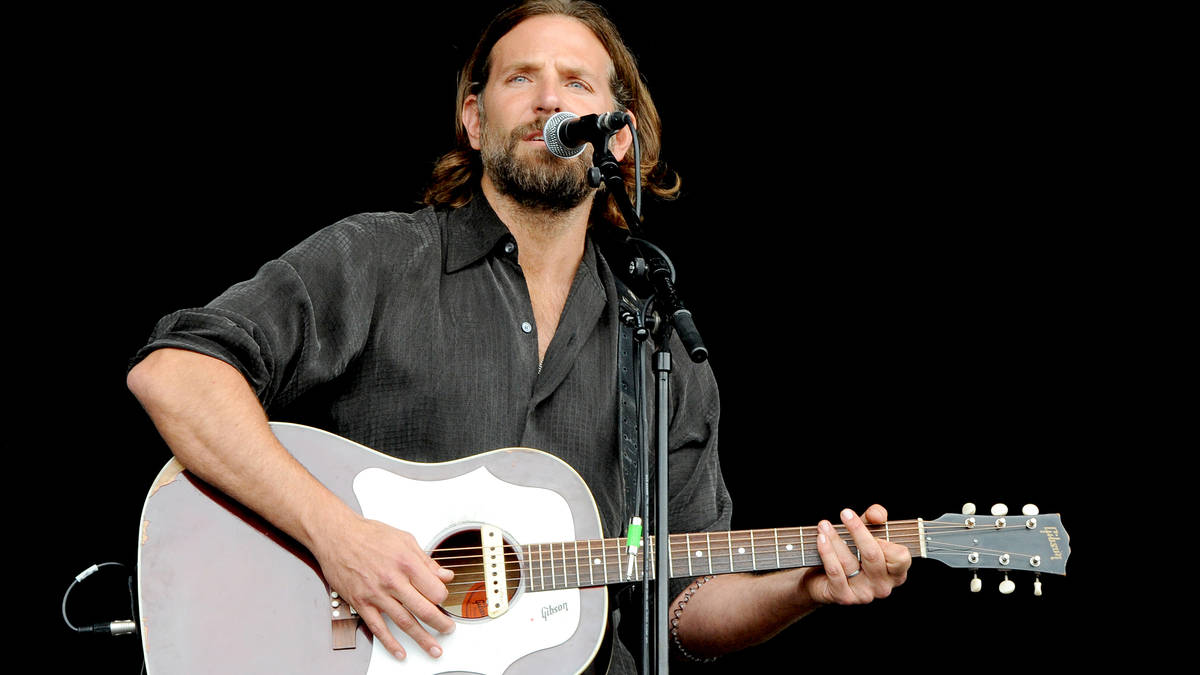 is bradley cooper really playing the guitar in a star is born classic fm. Black Bedroom Furniture Sets. Home Design Ideas