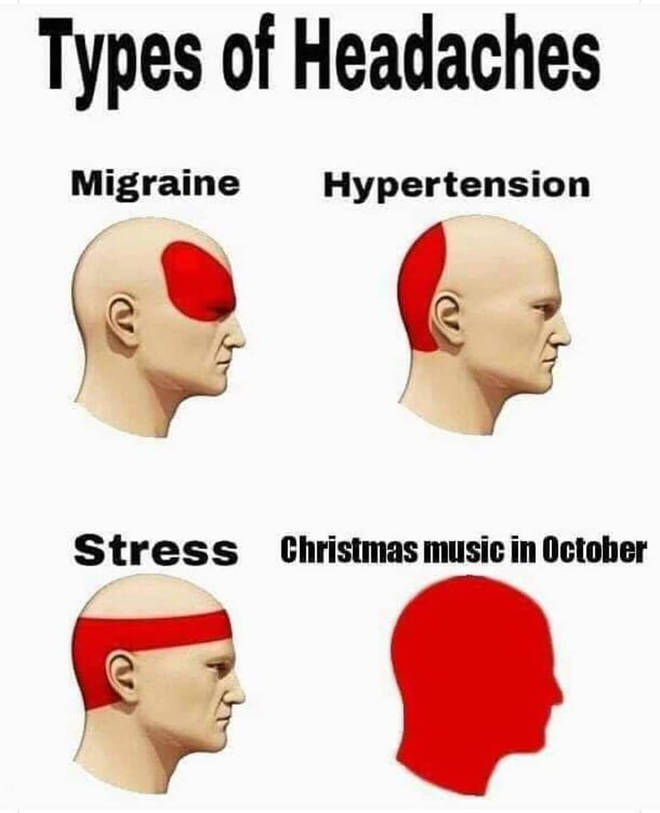 Christmas music in October