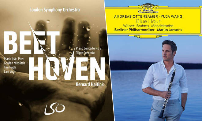 New Releases: Beethoven Piano Concerto No. 2 & Triple Concerto – Bernard Haitink & LSO; Blue Hour – Andreas Ottensamer & Yuja Wang