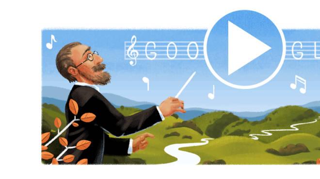 Google Doodle: Smetana
