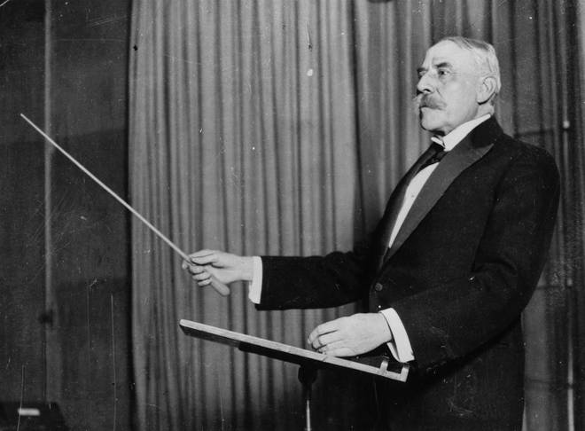 Elgar's manuscript was hidden in an autograph book