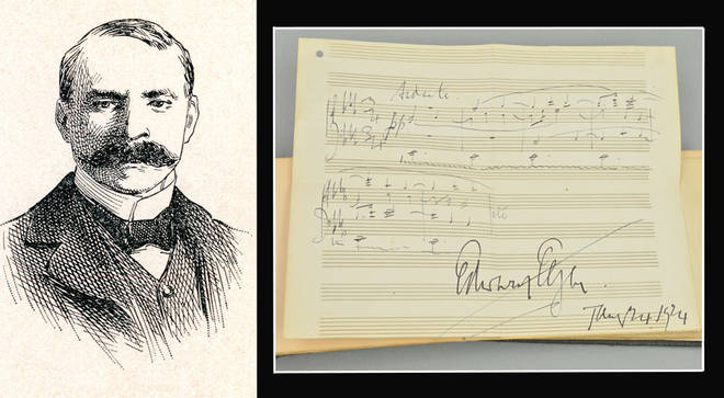 Lost Elgar masterpiece found in autograph book