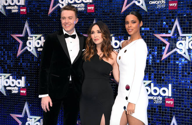 Presenters arrive at The Global Awards 2019 with Very.co.uk