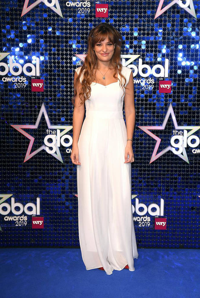Nicola Benedetti arrives at The Global Awards 2019 with Very.co.uk