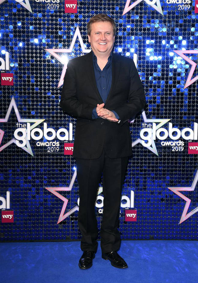 Aled Jones arrives at The Global Awards 2019 with Very.co.uk
