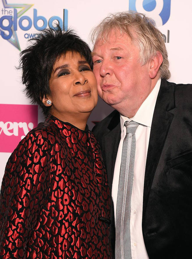 Moira Stuart and Nick Ferrari at The Global Awards 2019 with Very.co.uk