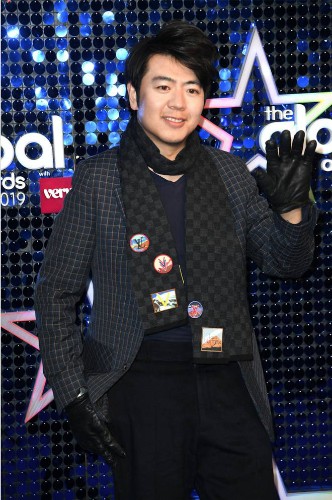 Lang Lang arrives at The Global Awards 2019 with Very.co.uk