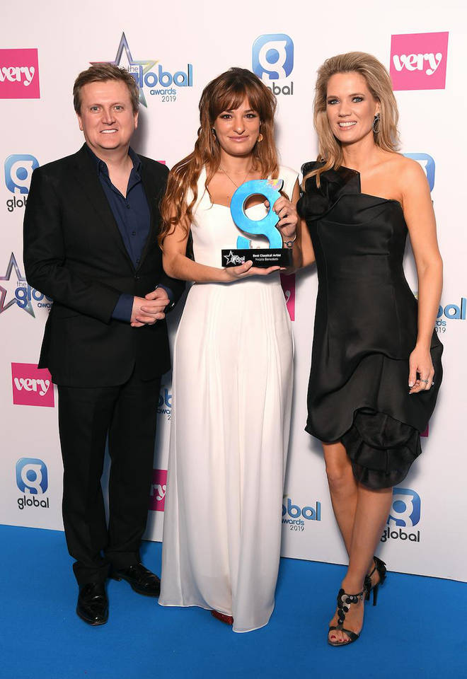 Nicola Benedetti wins the Best Classical Artist award