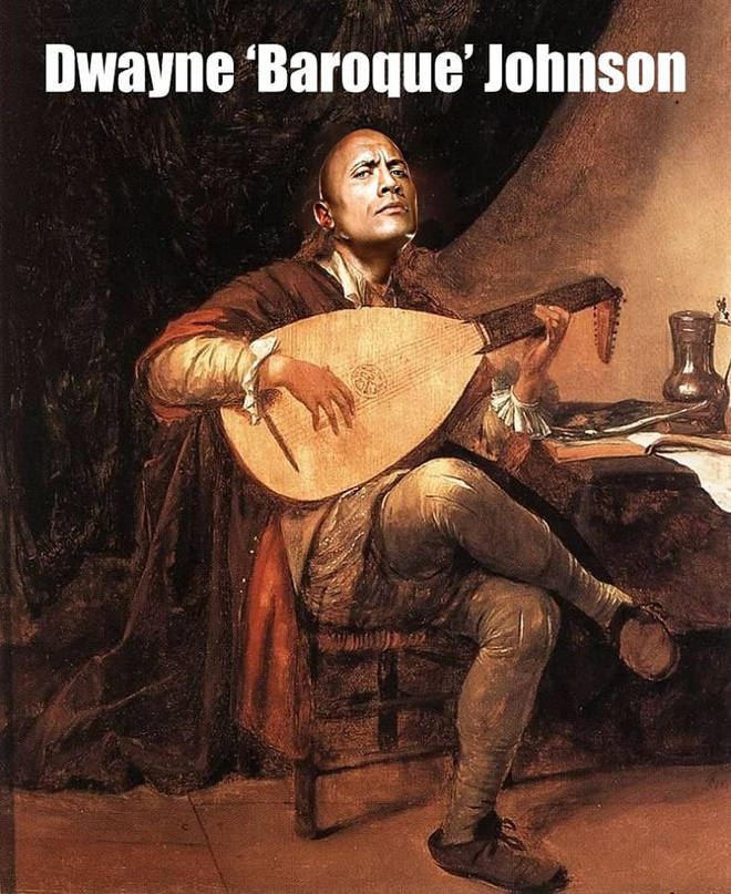 Dwayne Baroque Johnson