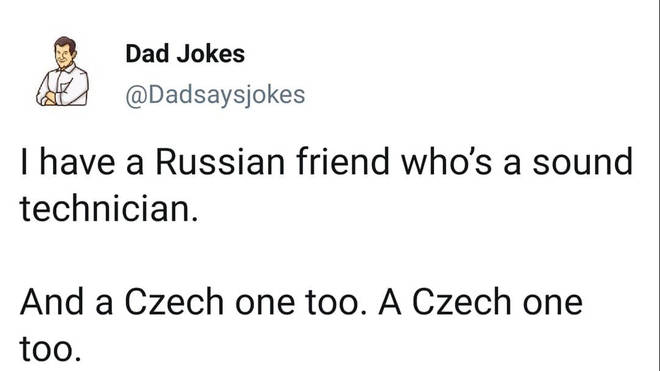 Czech one too