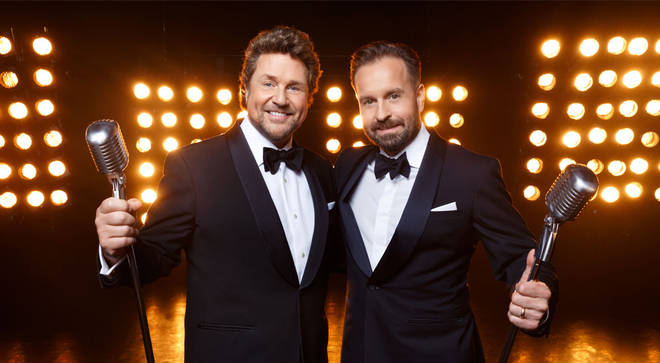Musical theatre stars Michael Ball and Alfie Boe