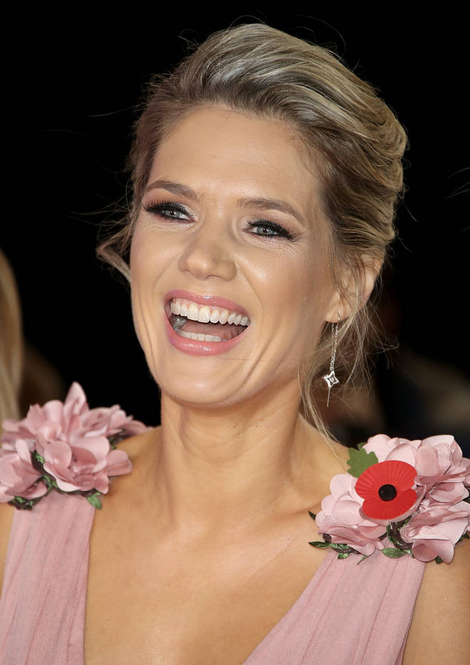 Charlotte Hawkins at the Pride of Britain Awards 2018
