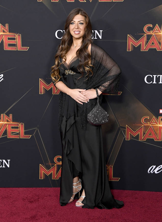 Pinar Toprak arrives at the Marvel Studios 'Captain Marvel' Premiere