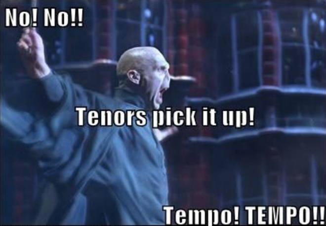 Tenors pick it up