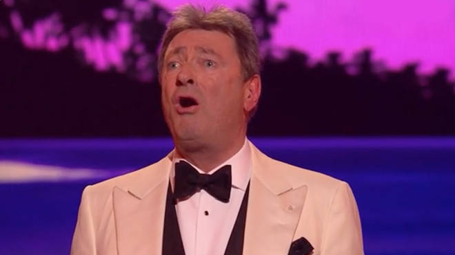 Alan Titchmarsh sang 'Some Enchanted Evening' on All Star Musicals