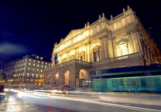 La Scala opera house, Italy