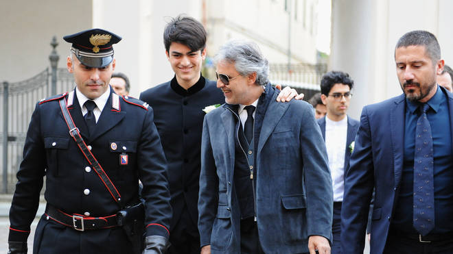Andrea Bocelli And Veronica Berti Wedding