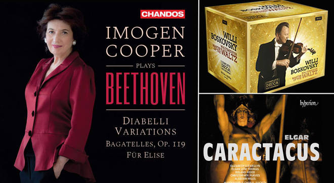 David Mellor's Album Reviews: Elgar's Caractacus, Boskozvsky and Imogen Cooper