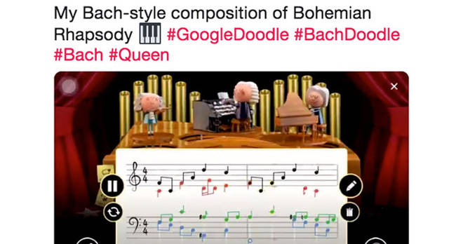 Bach Google Doodles