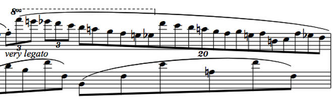 Chopin's Nocturne Op. 9 No. 1