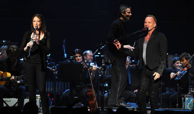 Sting sings with The Royal Philharmonic Concert Orchestra at the Royal Albert Hall