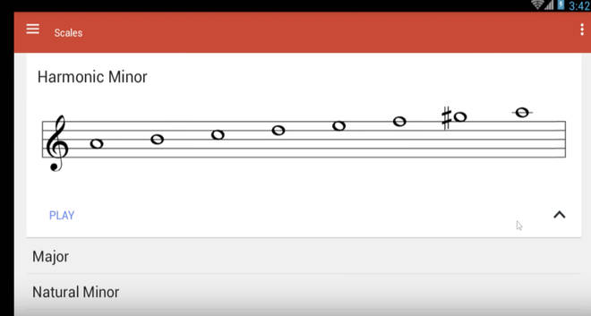 Music Theory Helper app