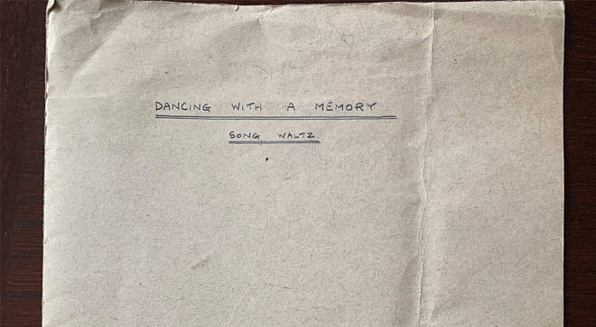 'Dancing With A Memory' manuscript