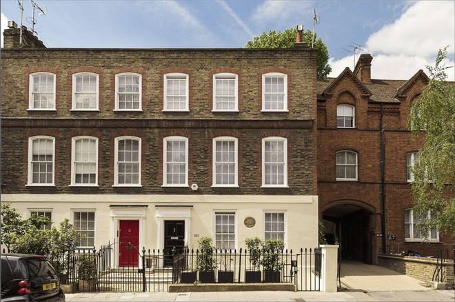 The Grade I Listed Belgravia town house was built in 1730