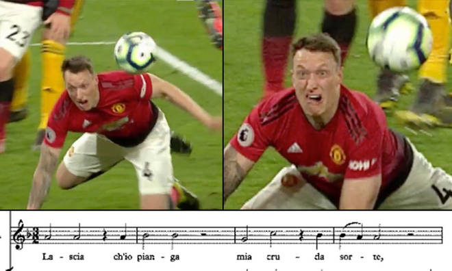 Football and opera merge thanks to Phil Jones