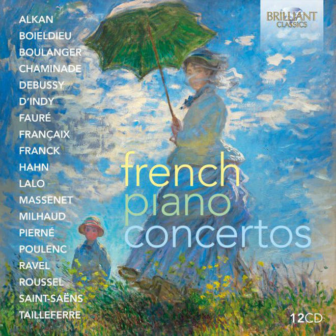 French Piano Concertos, Brilliant Classics