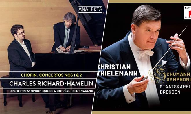 New Releases: Chopin Concertos Nos. 1 & 2 – Charles Richard-Hamelin; Schumann Symphonies Nos. 1–4 – Christian Thielemann & Staatskapelle Dresden