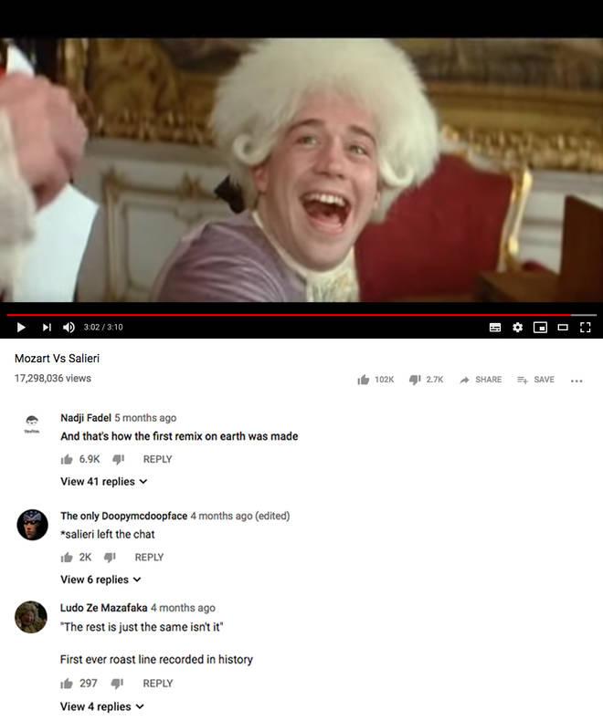 YouTube roast