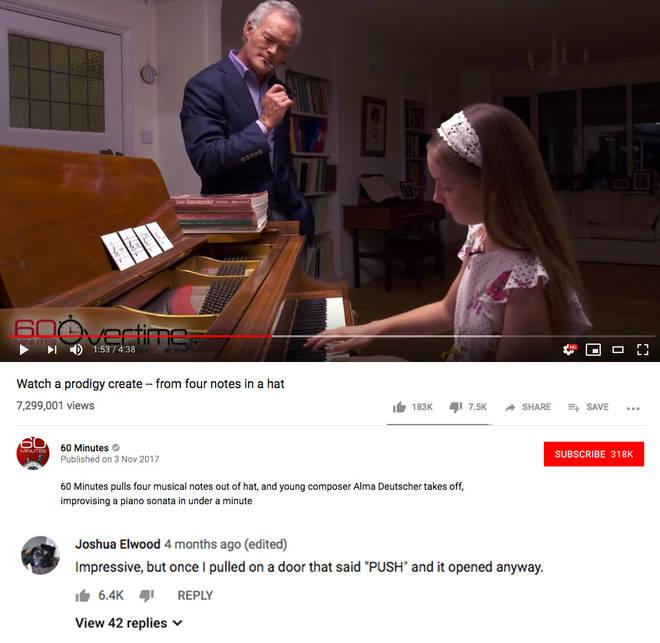 Alma Deutscher YouTube