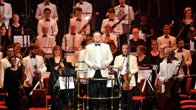Michael Seal conducts the City of Birmingham Symphony Orchestra at the Royal Albert Hall